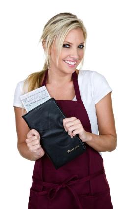 waitress-check