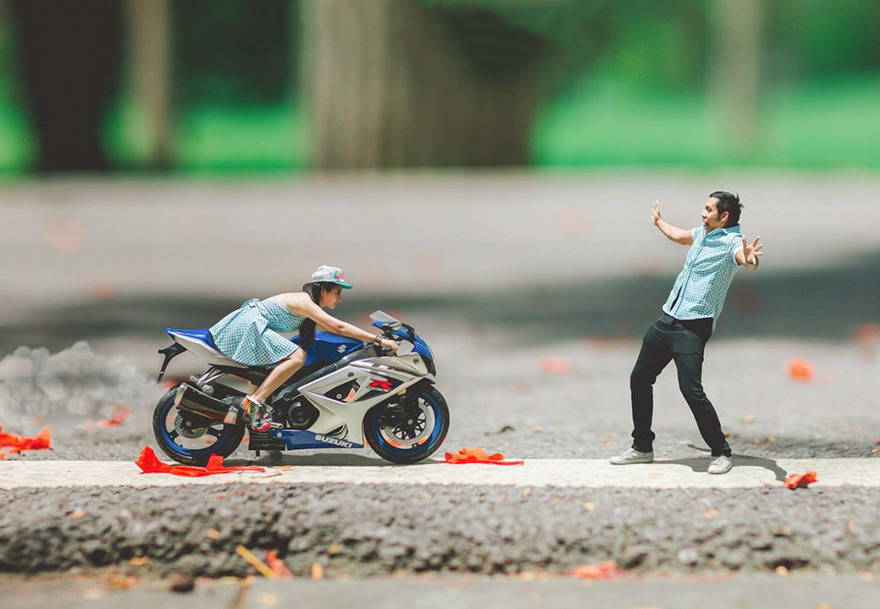This Wedding Photographer Turns Couple Into Miniature People